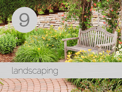 Landscaping services for your new custom home by JDL Homes Vancouver