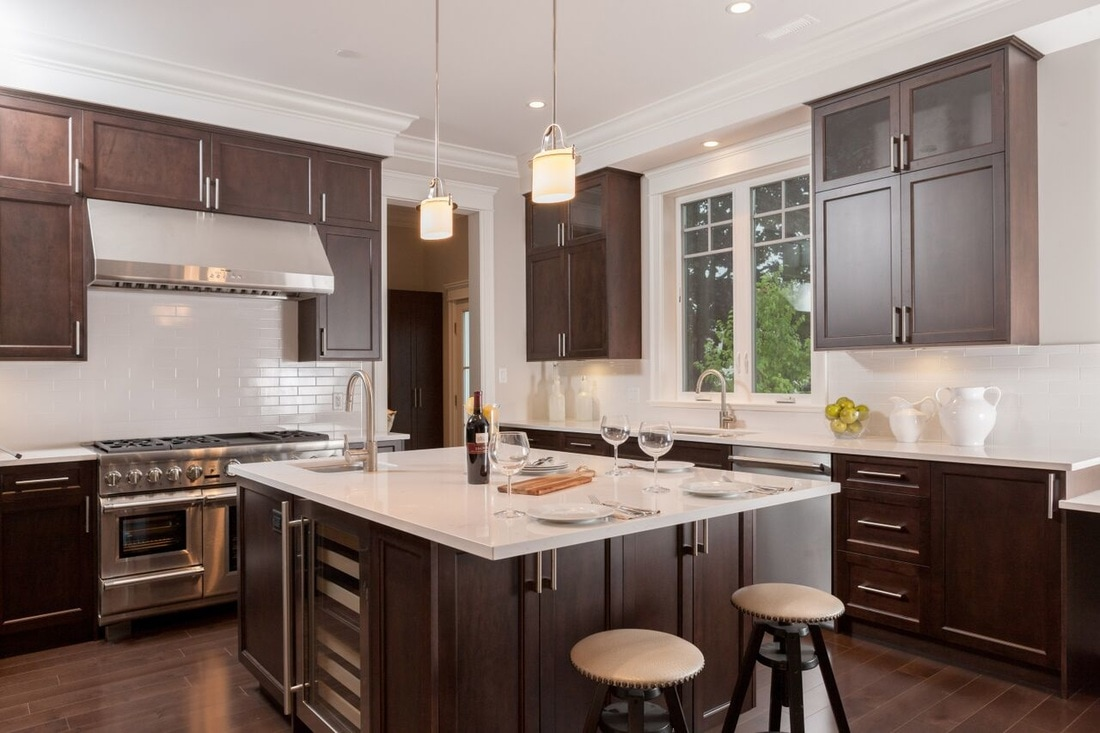 Designer Kitchen in Vancouver Design  Custom Renovations