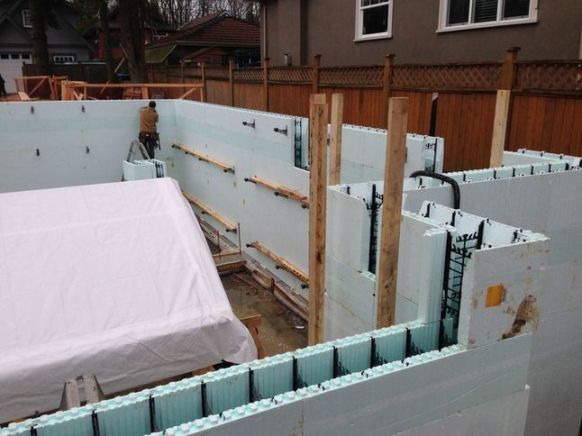 Jdl blog jdl homes vancouver general contractors for Nudura icf cost